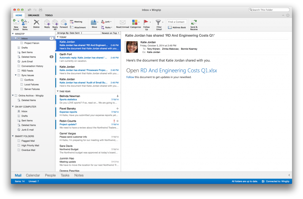 Microsoft Finally Announces the New Outlook for Mac and It Looks Great