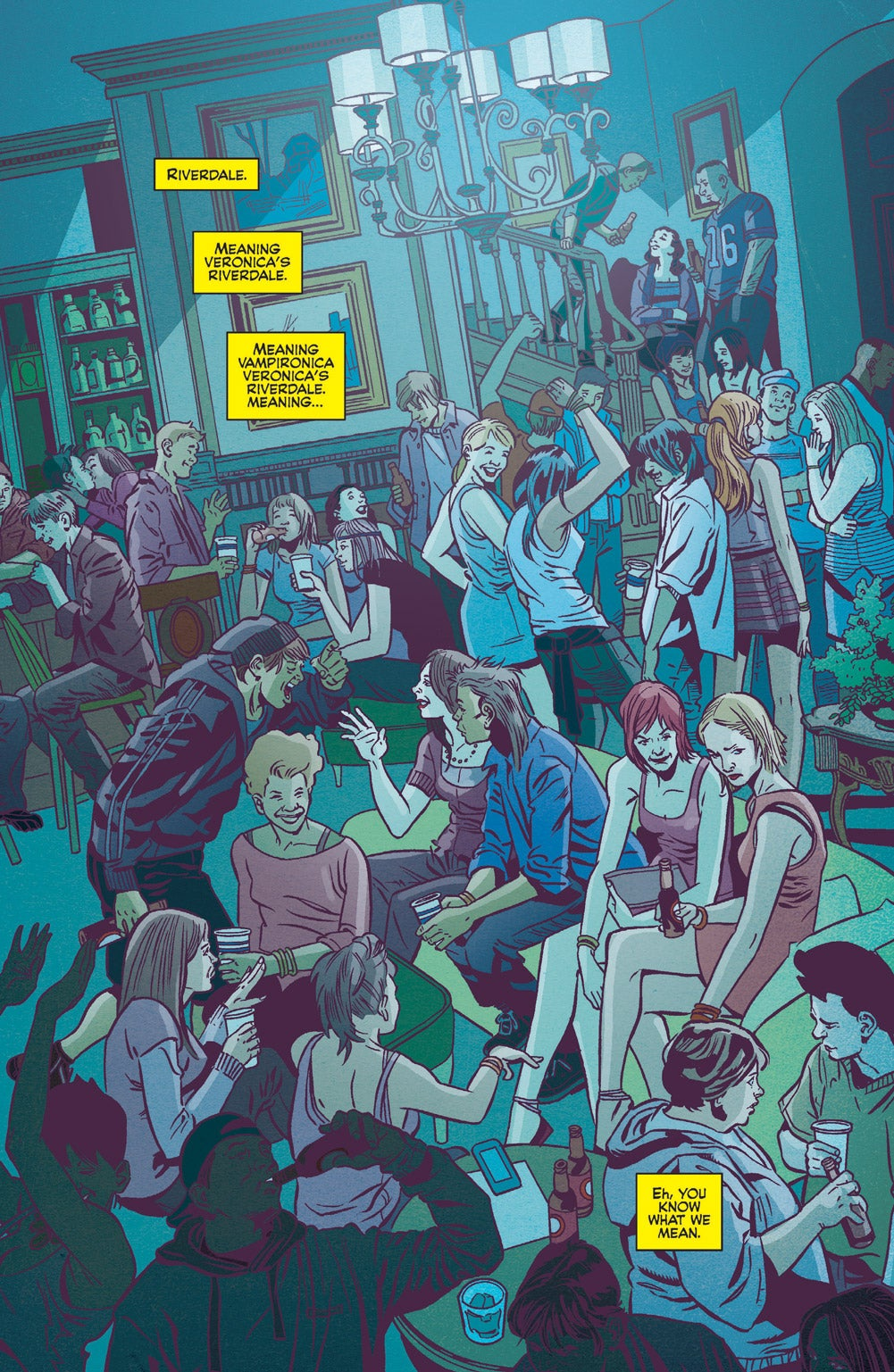 Image: Pat and Tim Kennedy, Bob Smith, Matt Herms, and Jack Morelli, Archie Comics