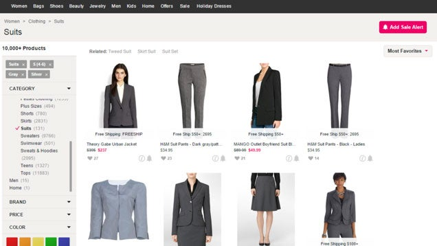 ShopStyle Finds the Clothes You're Looking for in One Simple Search
