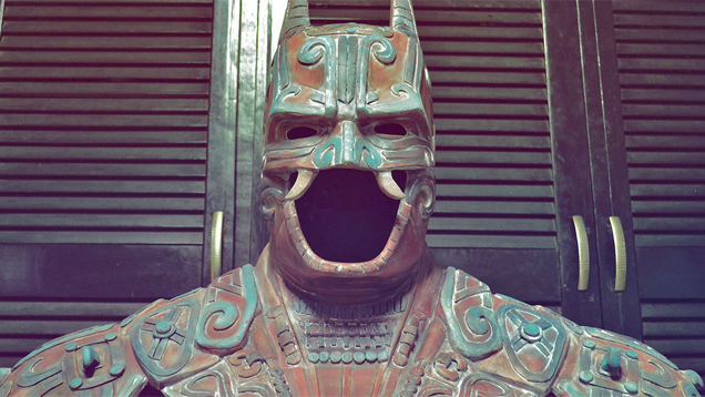 What An Ancient Mayan Batman Would Look Like