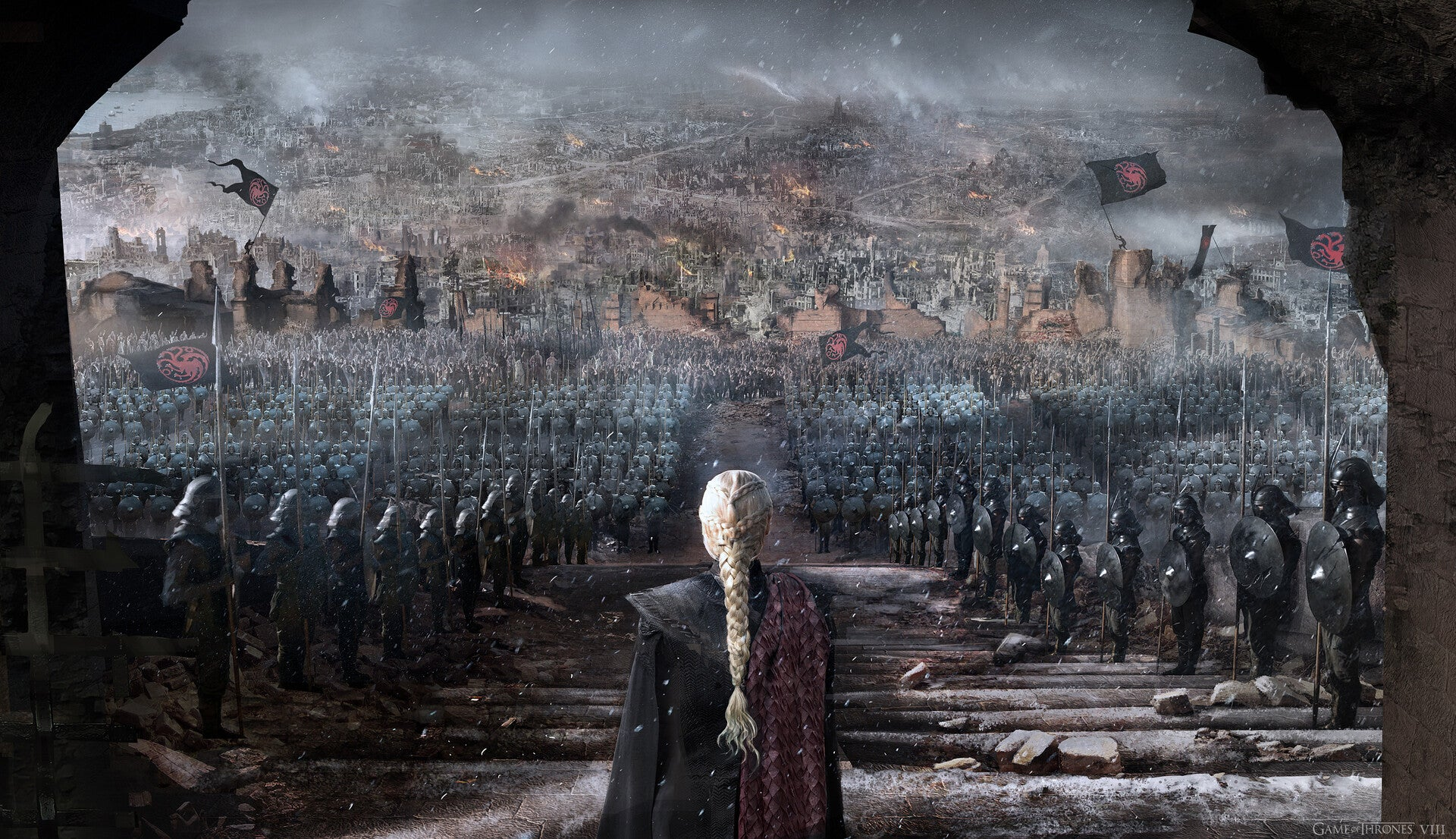 Some Of The Art Behind Game Of Thrones: The Final Season