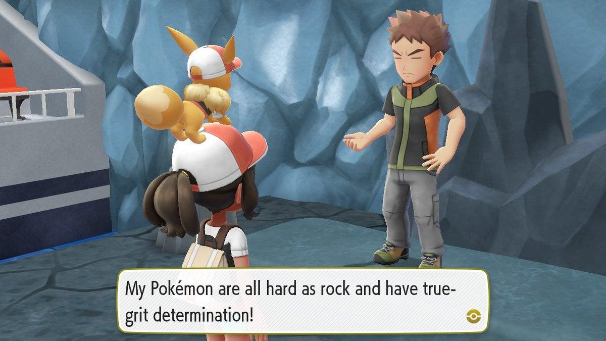 Pokemon sapphire go for it a little harder