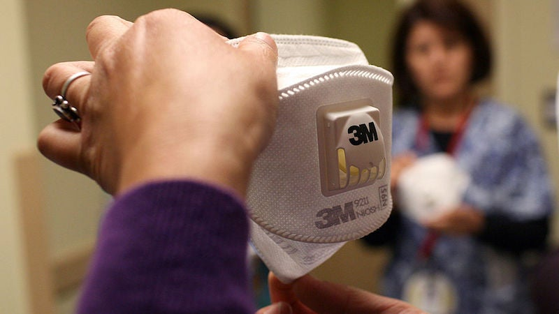 Facing Shortages, U.S. Feds Give Green Light To Decontaminate Used N95 Masks