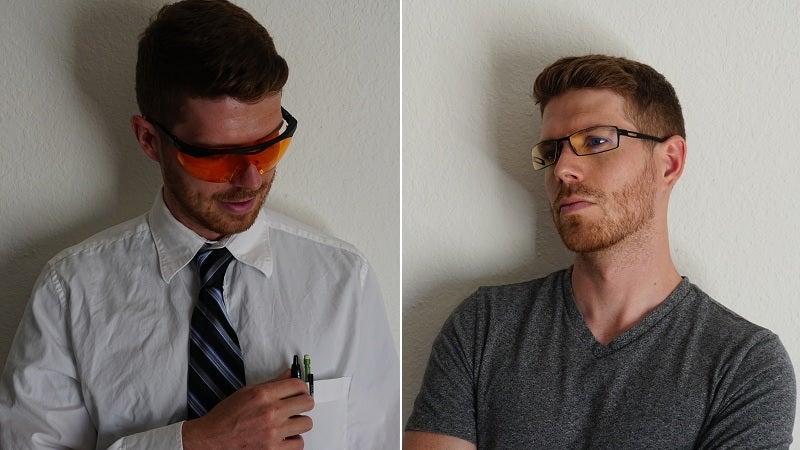 Computer Glasses Showdown: Gunnar Optiks vs. Uvex