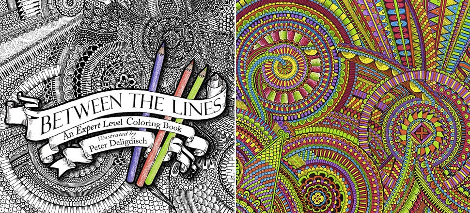 A Colouring     Book For Those Who've Mastered Staying Inside the Lines