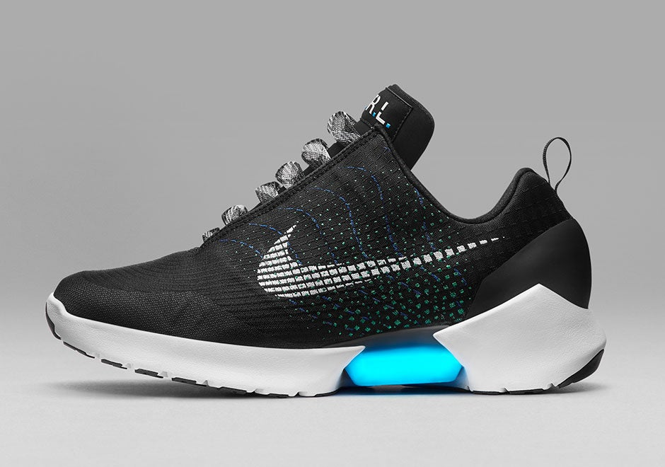 Here Are Nike's First Power Lacing Shoes