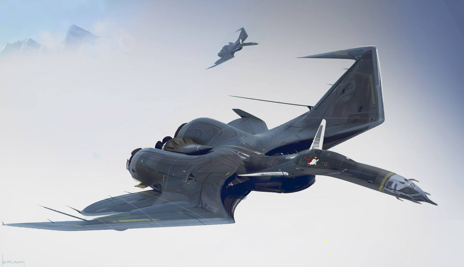 best helicopter gunship with These Pterodactyls  Bat Jets Are So Damn Cool on  furthermore Mi24e furthermore Russian Delta Iii Project 667bdr Kalmar besides Paf Attack Helicopter Looks More Like further These Pterodactyls  bat Jets Are So Damn Cool.