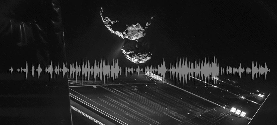 Rosetta's Comet Is Singing and You Can Listen To It Here