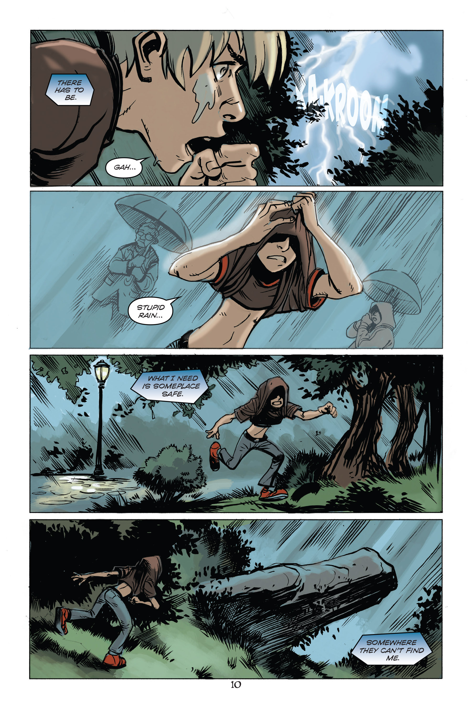 Boy Meets (Alien) World in the Excellent Scifi Adventure Comic The Only Living Boy