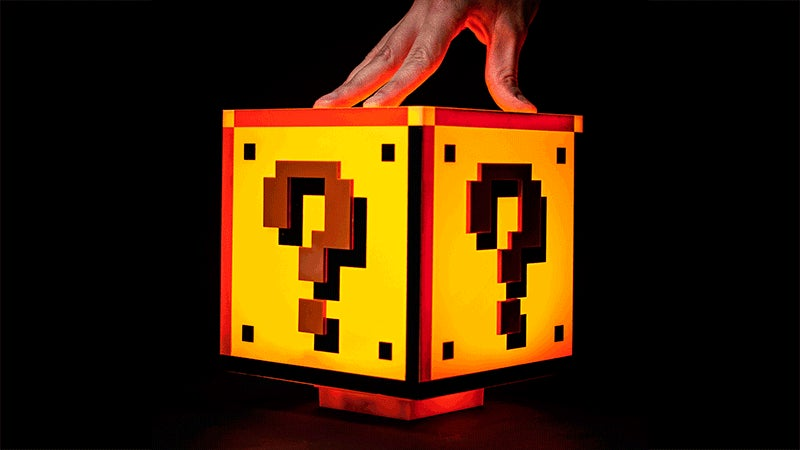 Authentic Sound Effects Are the Best Part of This Super Mario Bros. Lamp