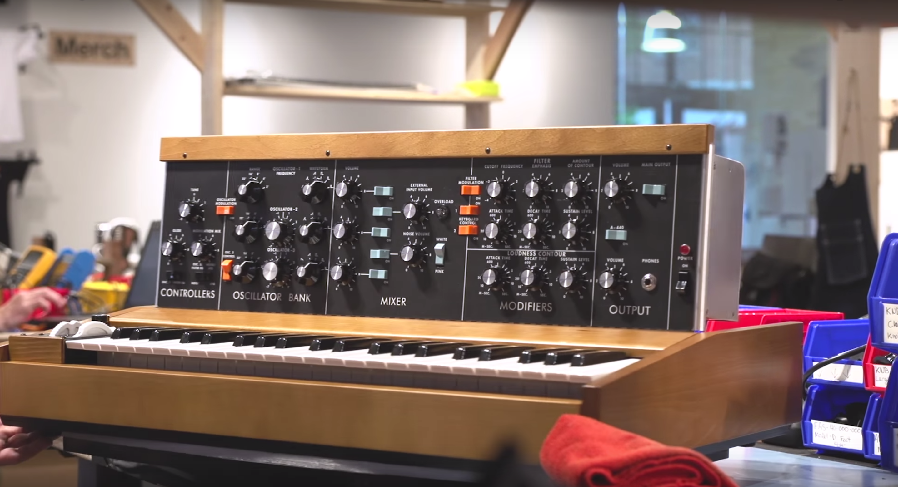 Moog Just Resurrected A Piece Of Music History