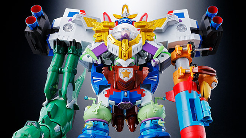 That Toy Story Voltron Toy Just Got Even Wilder