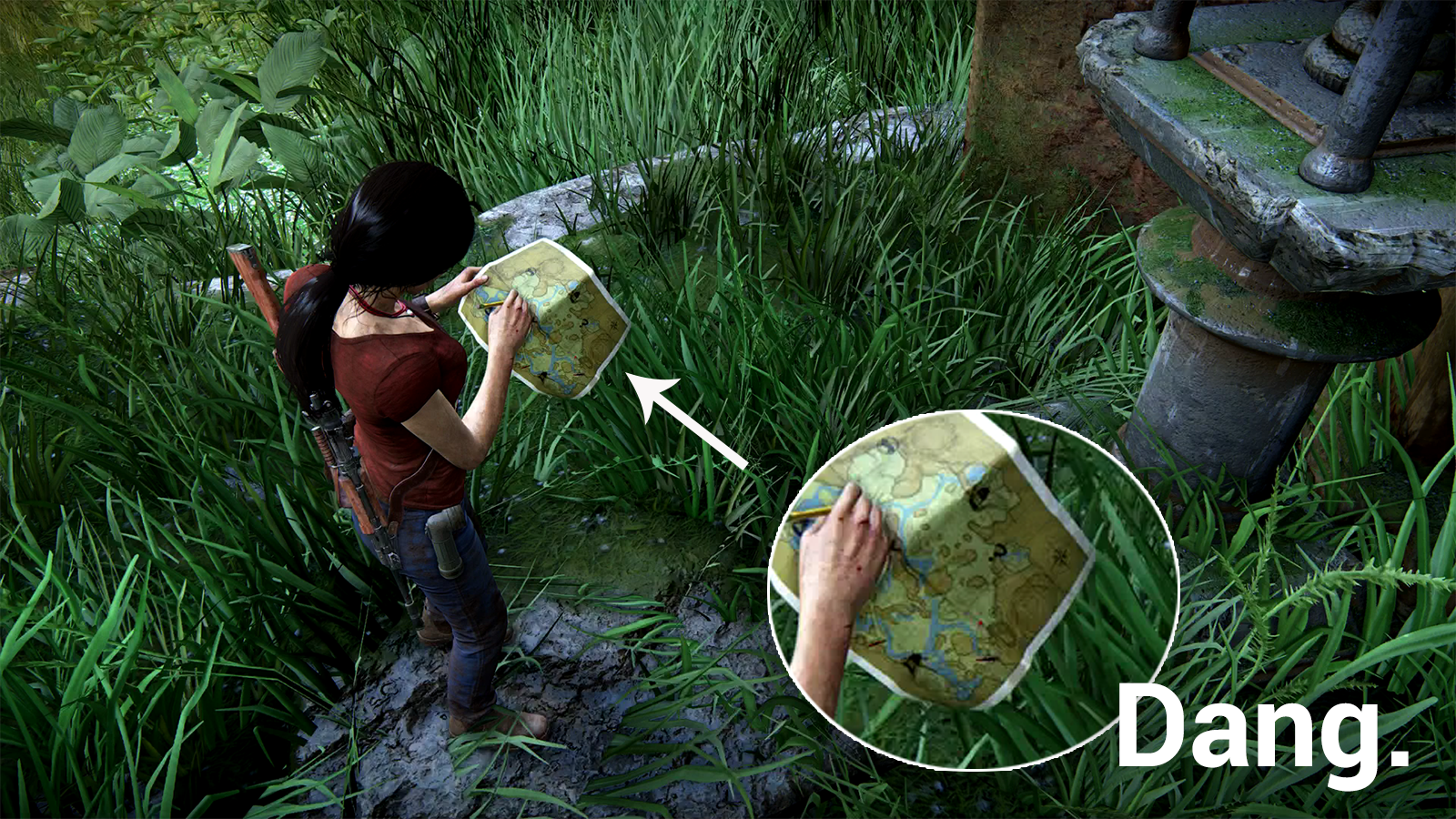 A Ridiculous Little Detail In Uncharted The Lost Legacy Kotaku