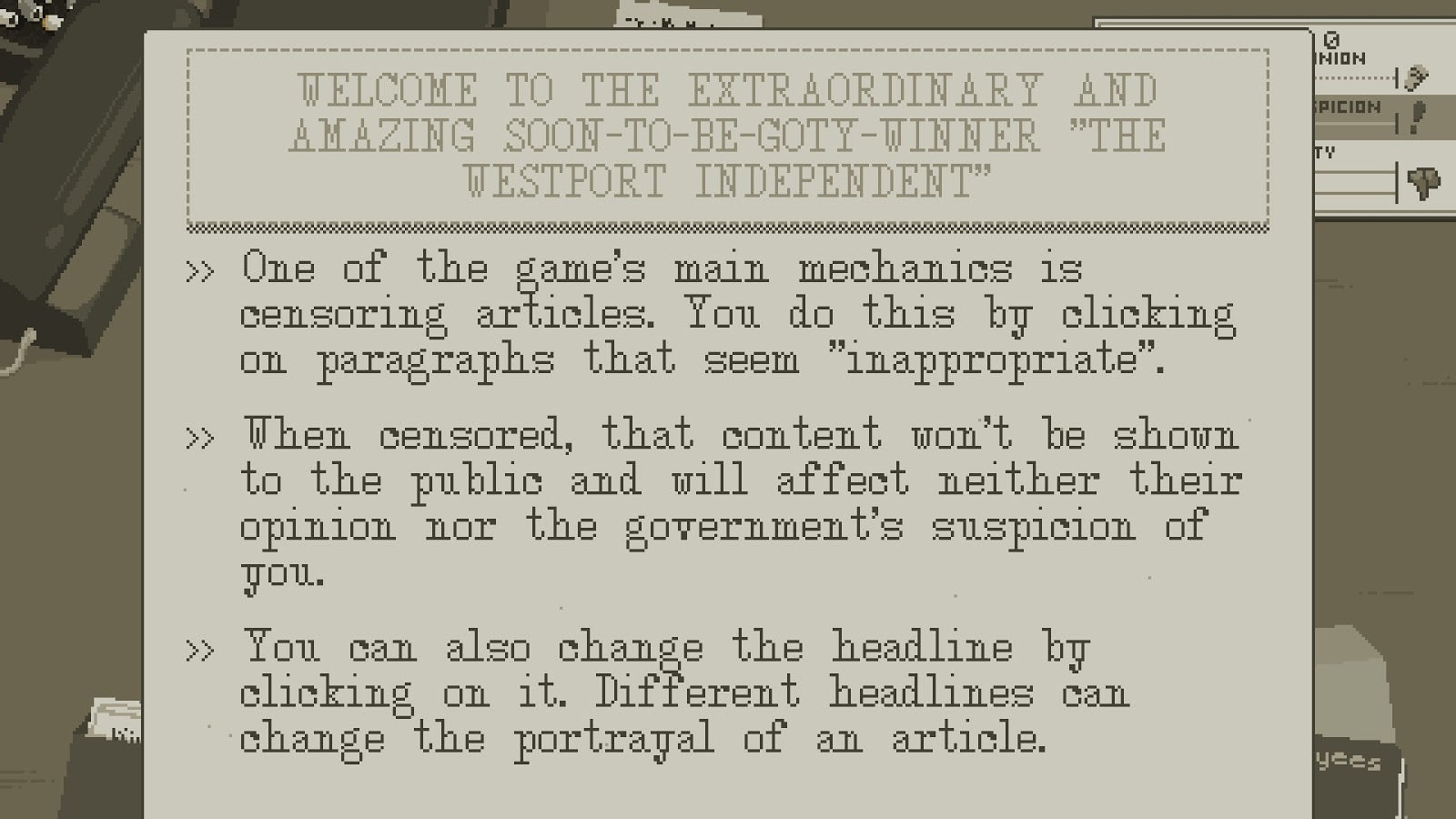 Westport Independent Is An Intense Game About Censoring The News