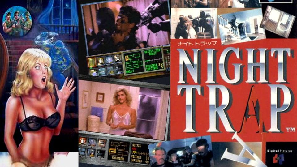 Night Trap Creators Defend Sloppy Kickstarter... Sorta