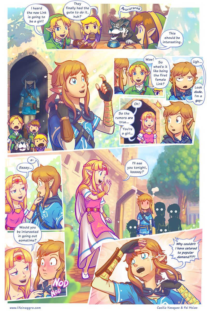 Sunday Comics: Back to Hyrule