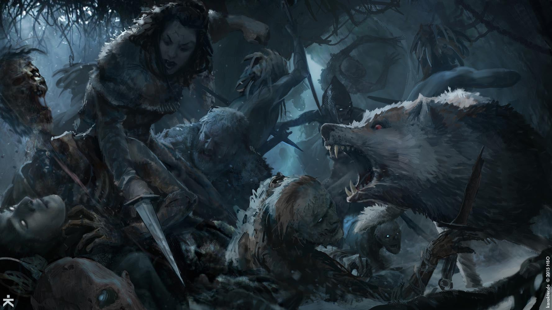 Fine Art The Art Of Game Of Thrones Season 6 Kotaku