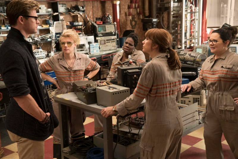 The Ghostbusters Team Talks About That Shocking End Credits Scene And Other Secrets