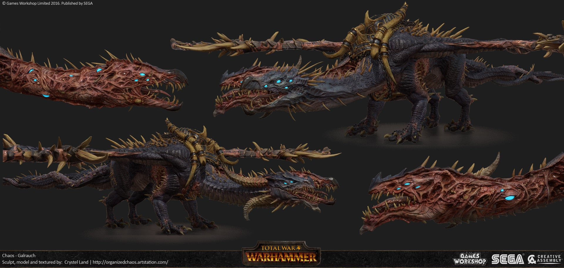 The Art Of Total War: Warhammer