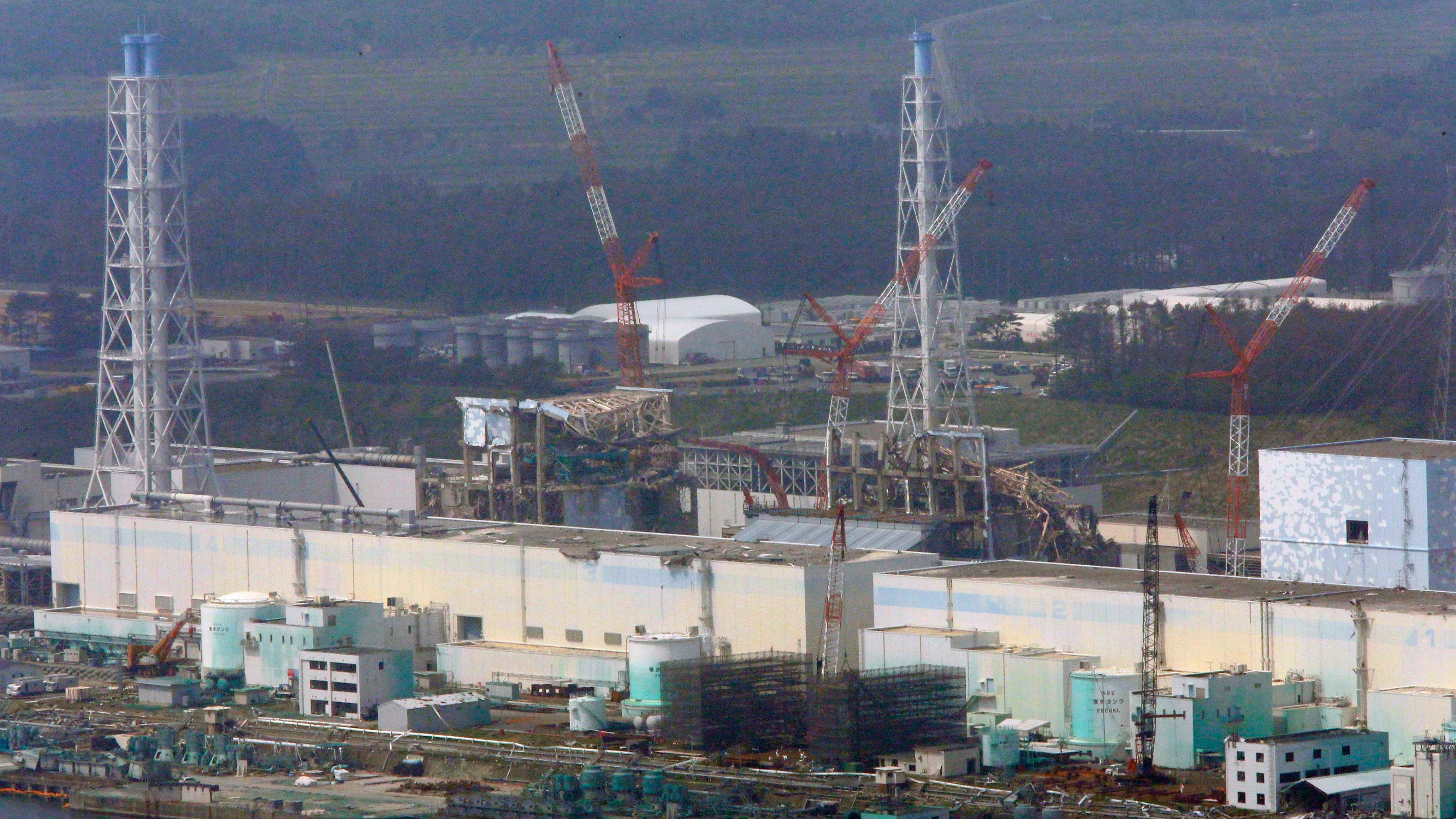 A Robot Captured Photos Of What Might Be Melted Nuclear Fuel Inside Fukushima's Reactor No. 3