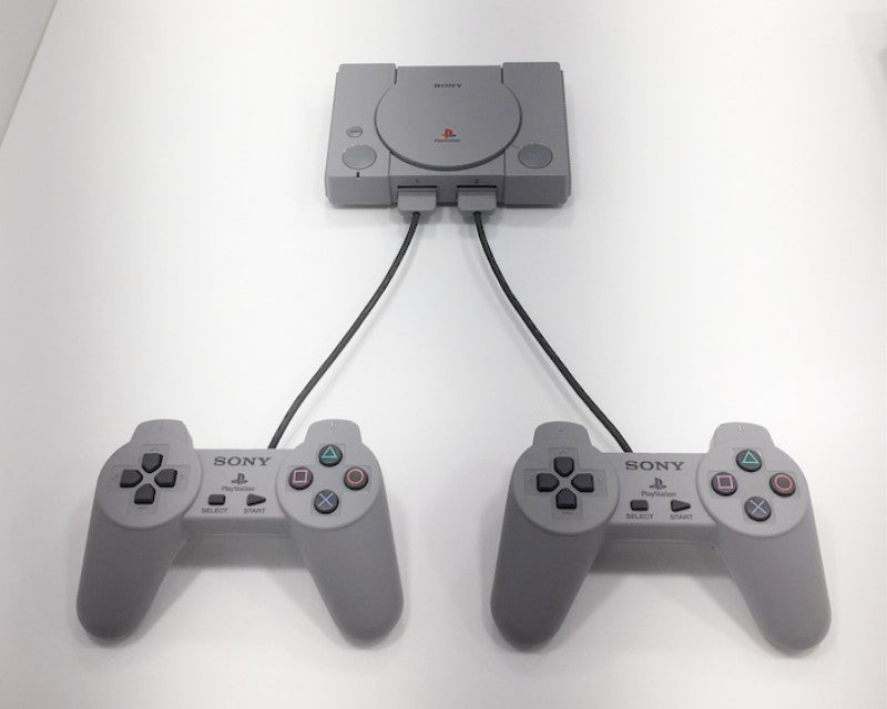 The Playstation Classic Compared With The Original Playstation