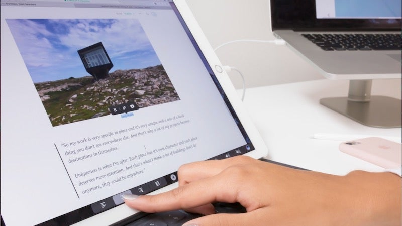 Duet Display Adds The MacBook Pro's Touch Bar To Any iPad