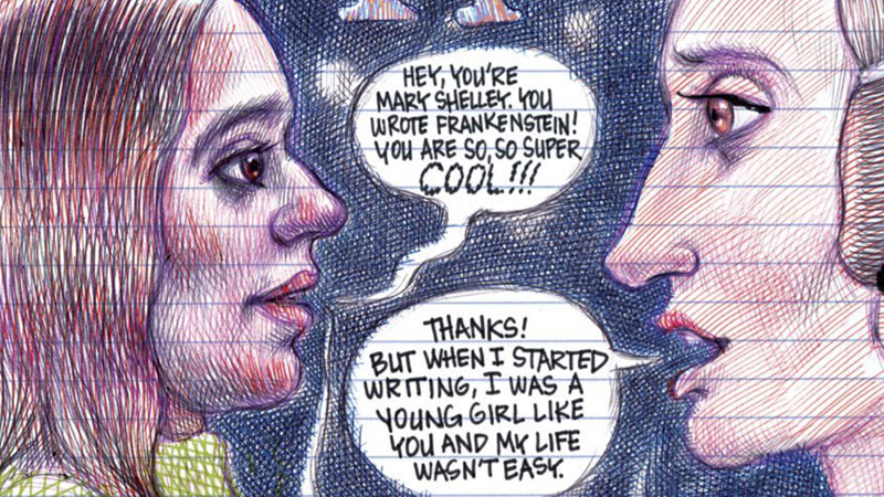 Explore The Sad Origins Of Mary Shelley In This Comic Book Celebration Of History's Inspiring Women