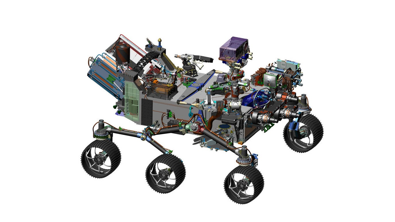 This Is NASA's New Mars Rover