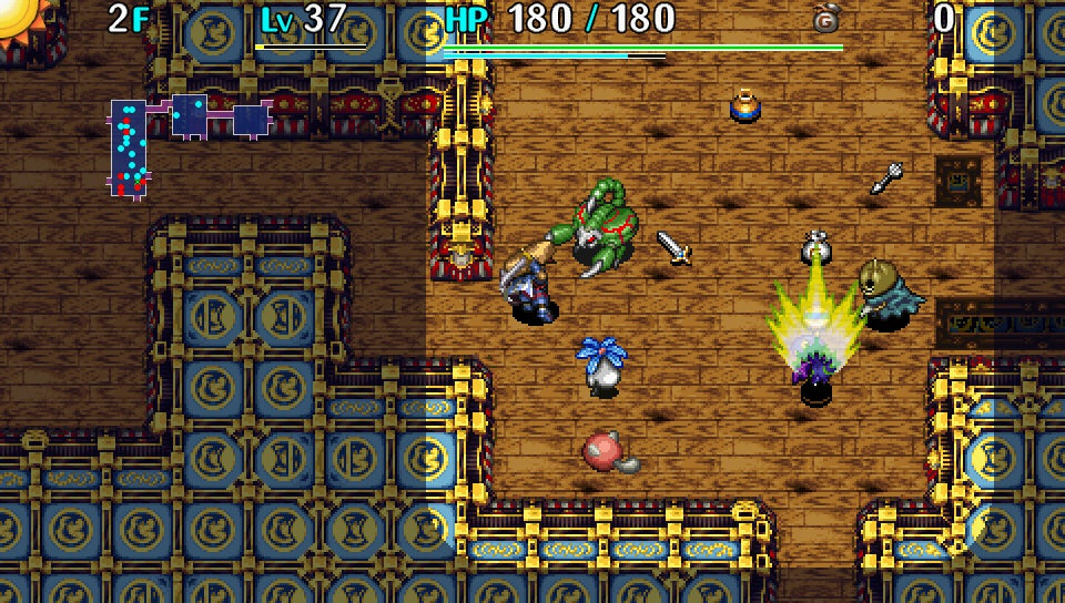 Shiren The Wanderer IsA Mystery Dungeon Game WithoutPokemonOr Chocobos, That's All