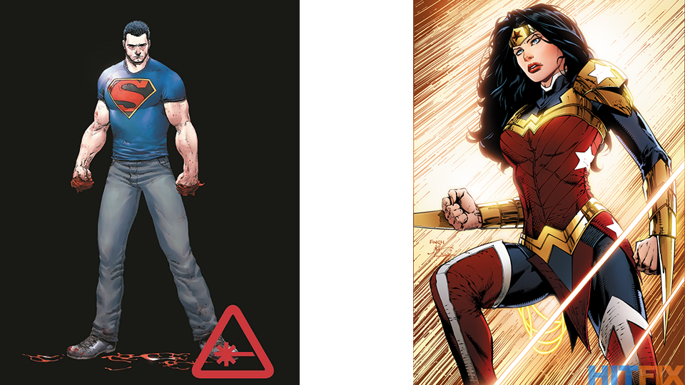 Wonder Woman Gets Pants, Superman Loses Cape