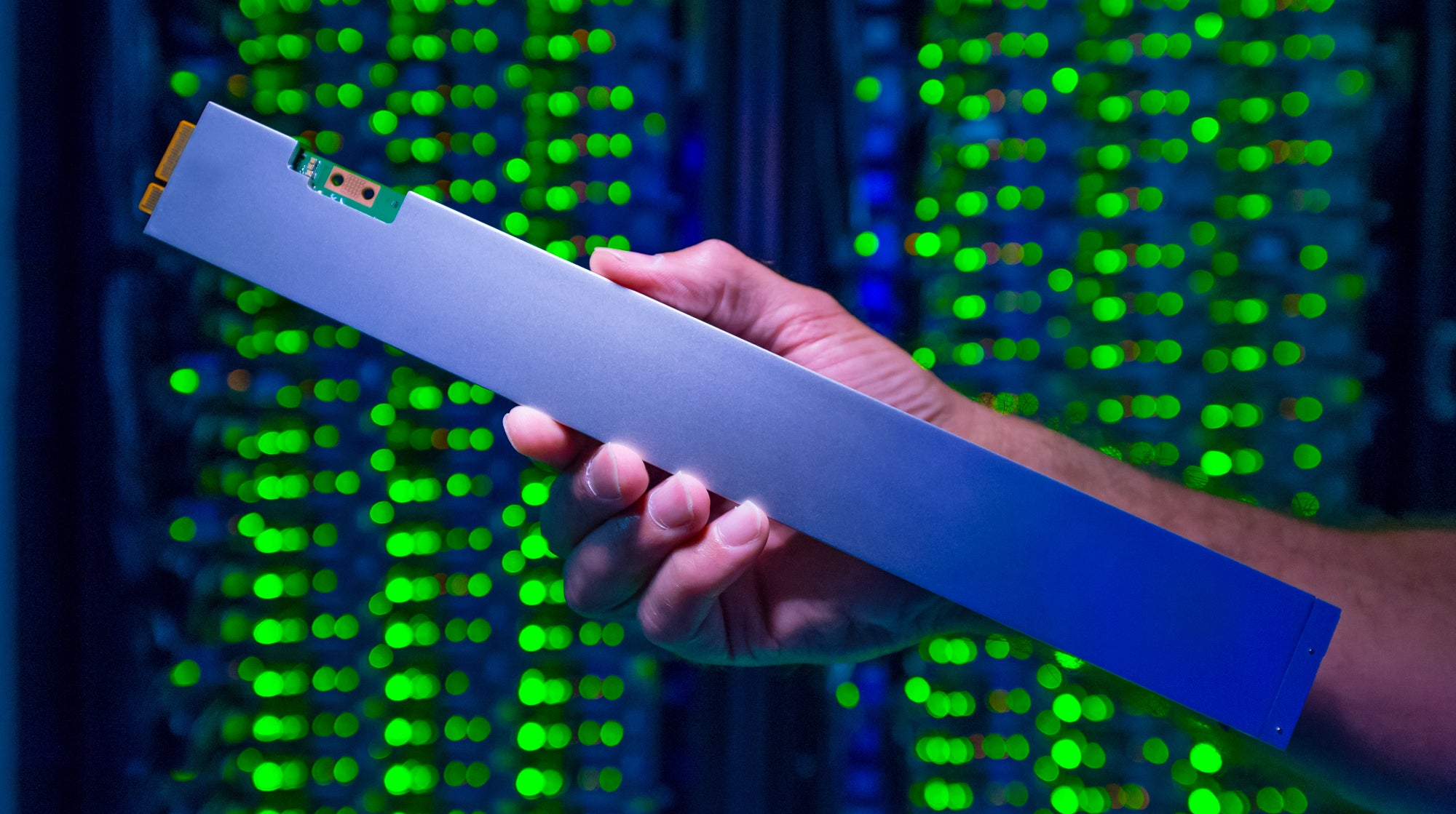 Intel Says It Made The 'World's Densest' SSD By Cramming 32TB Into The Shape Of A Ruler