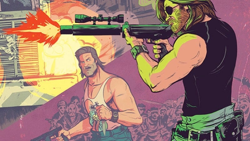 Oh Hell Yes: Big Trouble In Little ChinaandEscape From New York Are Crossing Over In A New Comic