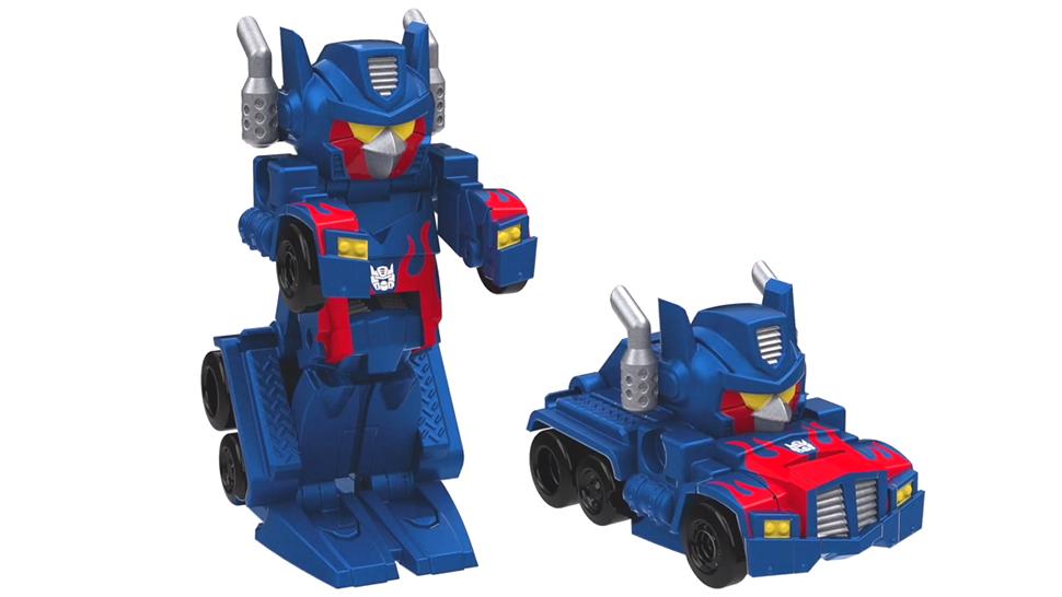 Angry Birds Transformers Toys Do Transform, Basically