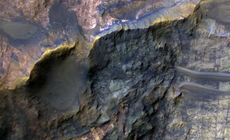 These Martian Rocks Hint At Ancient Alien Life