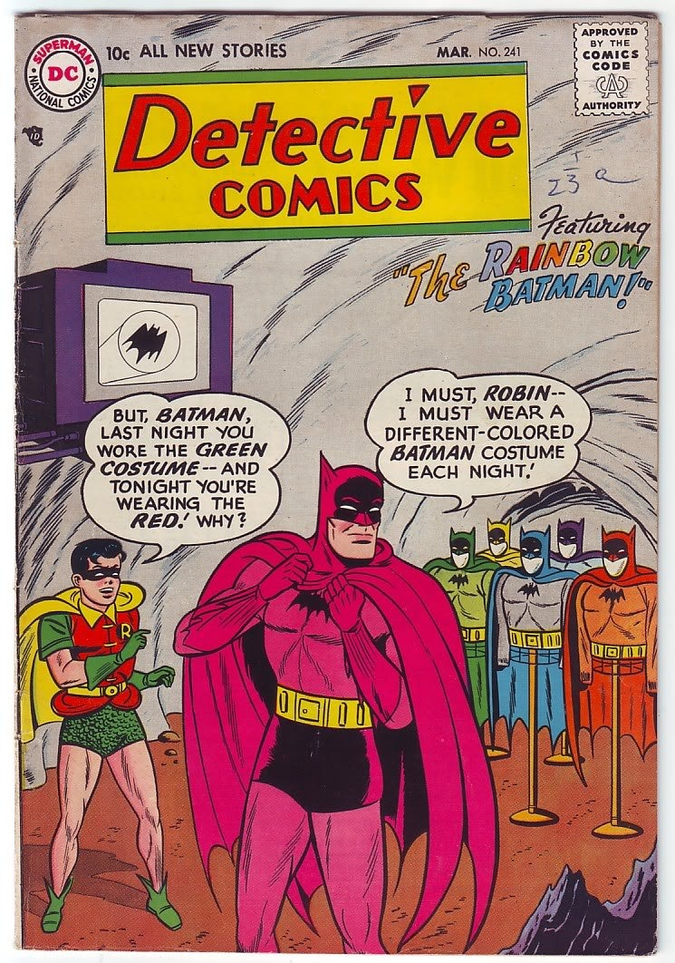 We're Finally Getting Those Rainbow Batman Figures