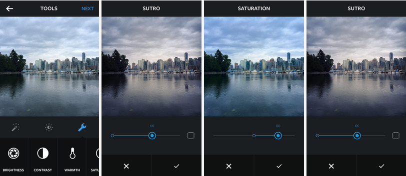 Instagram Update Adds More Sophisticated Photo Editing Tools