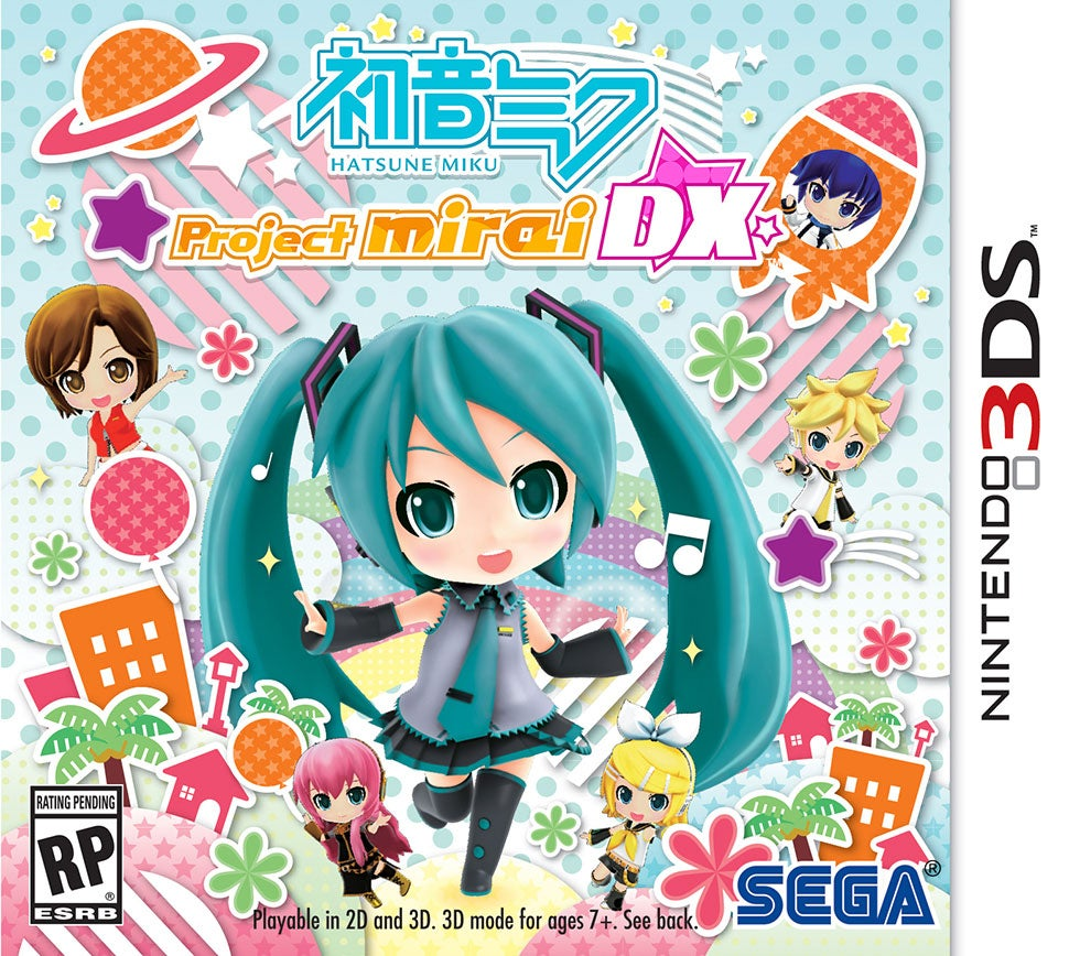 Hatsune Miku Charms Western 3DS Owners This May