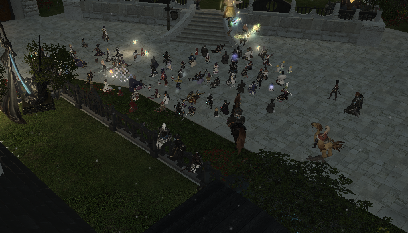 FFXIV Community Holds Massive Vigil For A Dying Player