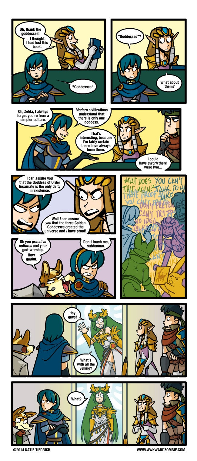 Sunday Comics: We're Fighting A Dragon