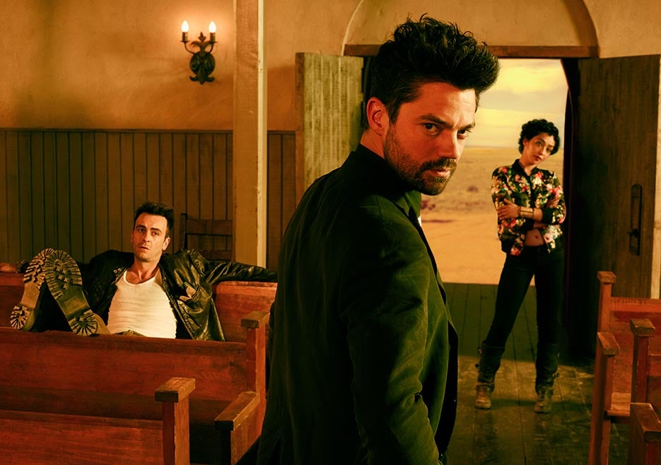 We've Seen the First Four Episodes of Preacher and They're Damned Good