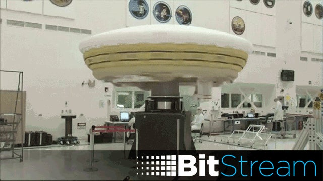 NASA's Flying Saucer, and Everything Else You Missed Yesterday