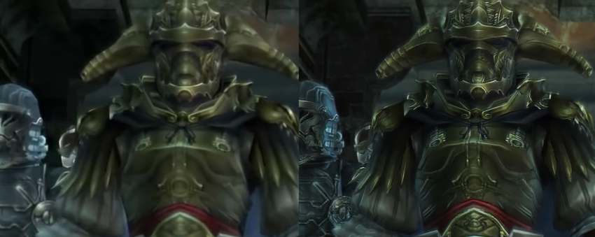 Final Fantasy XIIOn The PS2 Compared With The Remastered PS4 Trailer