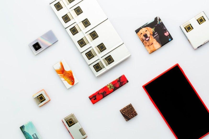 The Best Look Yet at Google's Ara Smartphone