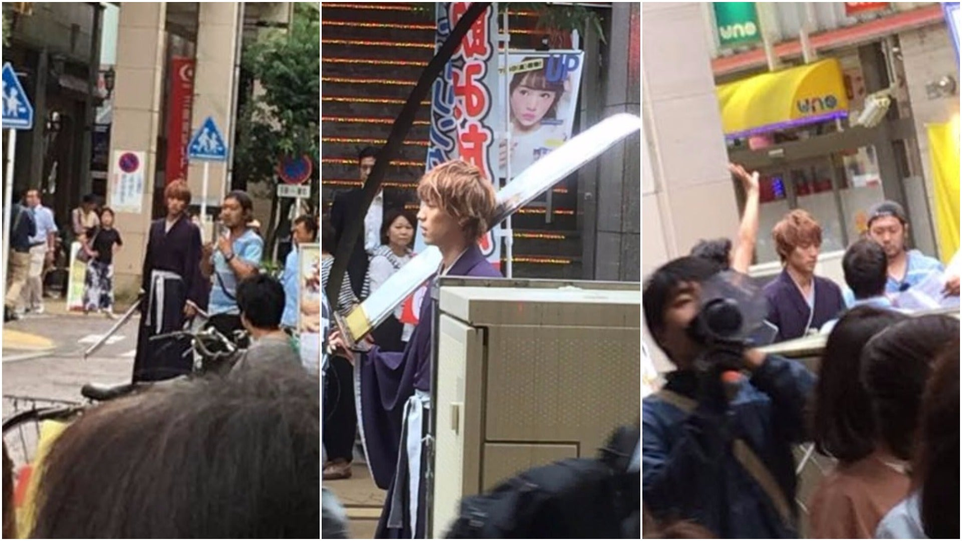 The First Photos Of The Live-Action Bleach Movie Shoot