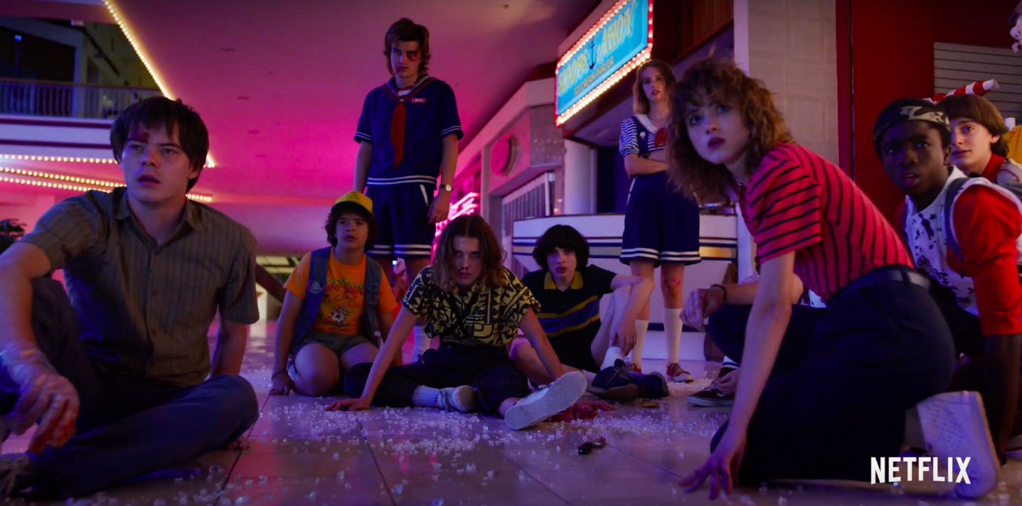 In The First Stranger Things Season 3 Trailer, It's All Fun And Games Until The Monsters Show Up