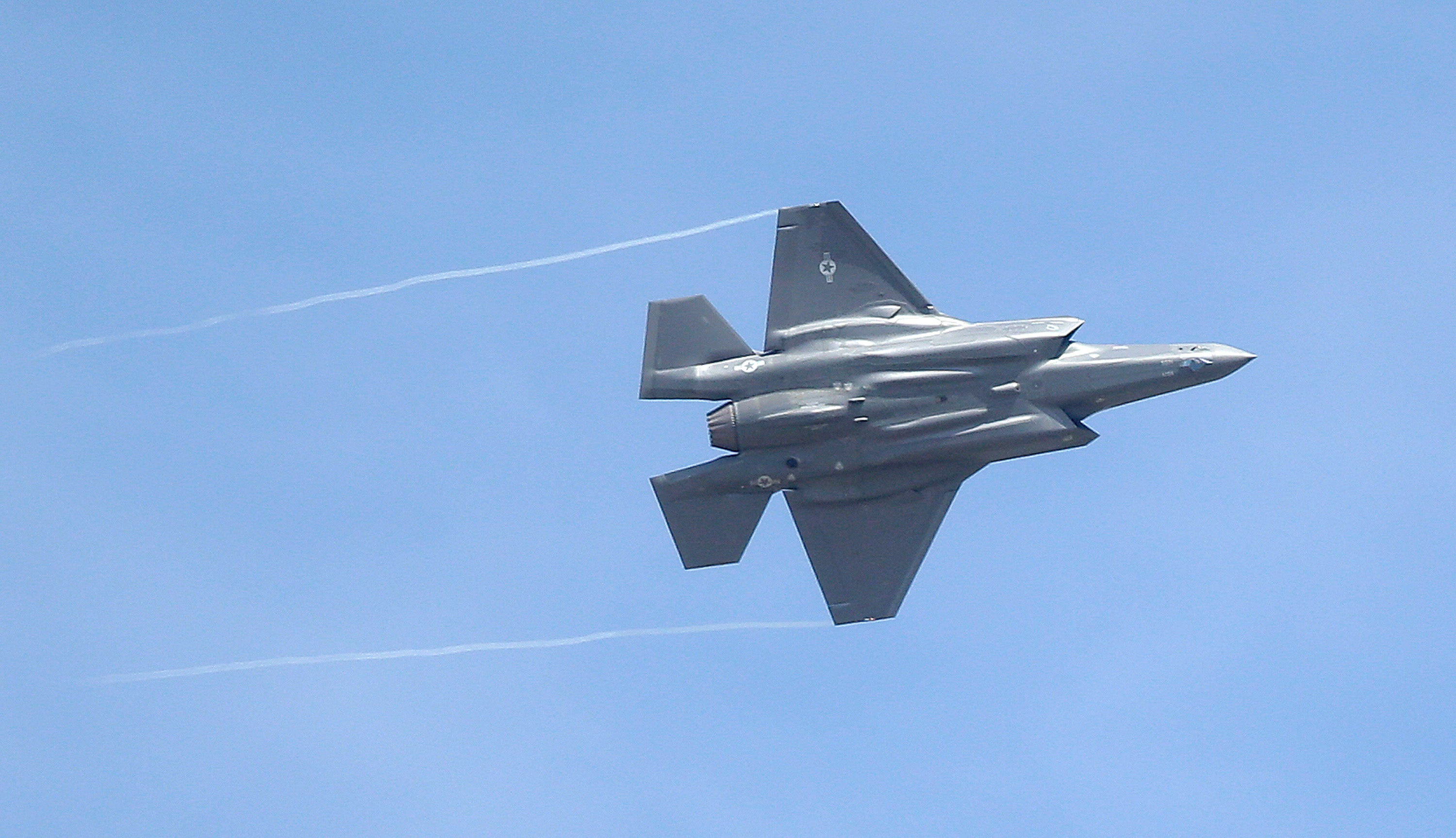 Australia Grounds Its F-35s For Fear They Will Be Struck By Lightning