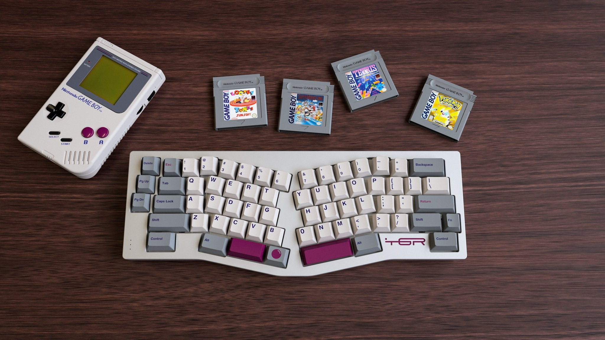 Now Your Keyboard Can Match Your Game Boy