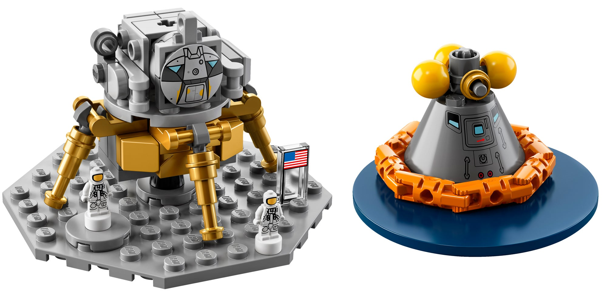 Live Out Your Astronaut Dreams With Legos Metre Tall Nasa Apollo