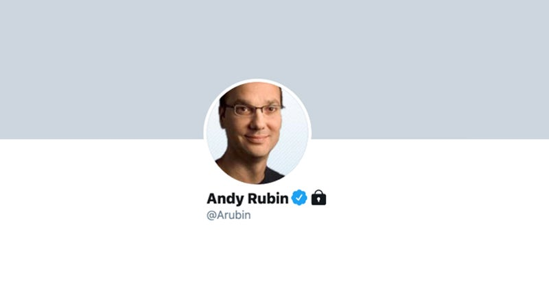 Disgraced Ex-Google Exec Andy Rubin Blocks Everyone On Twitter, And Good Riddance