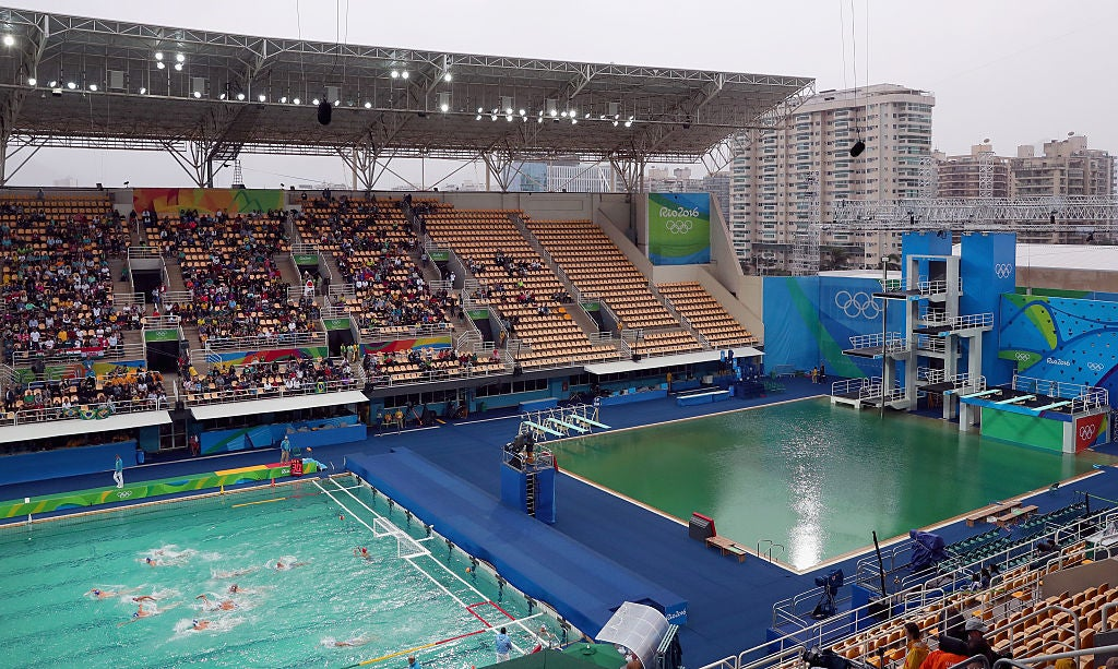 We Finally Know Why The Olympic Diving Pool Turned Green